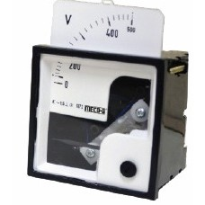 MECO-G SI-72/S-72, MOVING IRON 90 AC INTERCHANGEABLE SCALE PANEL, SWITCHBOARD METERS