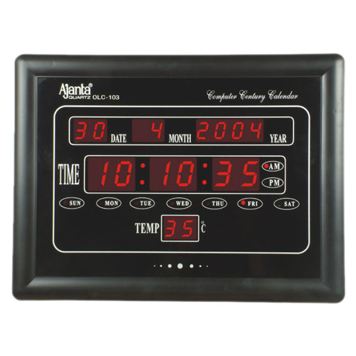 Ajanta Olc 103 Led Clock